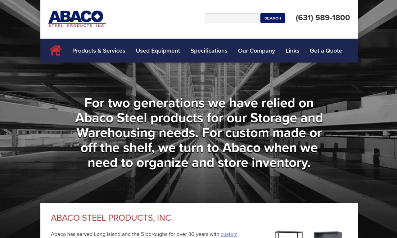 Abaco Steel Products, Inc.