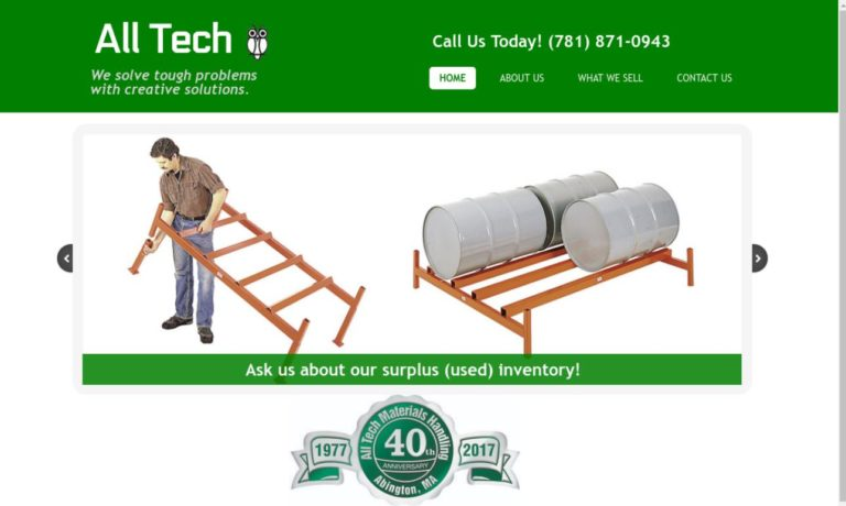 All-Tech Materials Handling Equipment Corporation
