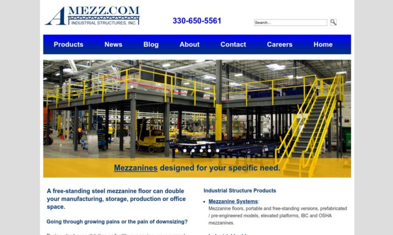 A-Mezz Industrial Structures, Inc.