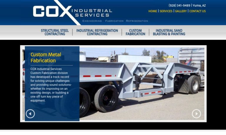 Cox Industrial Equipment Company, Inc.