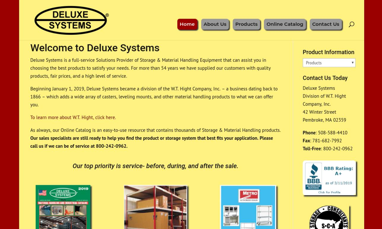 Deluxe Systems, Inc.