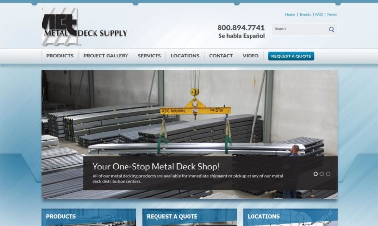 A.C.T. Metal Deck Supply