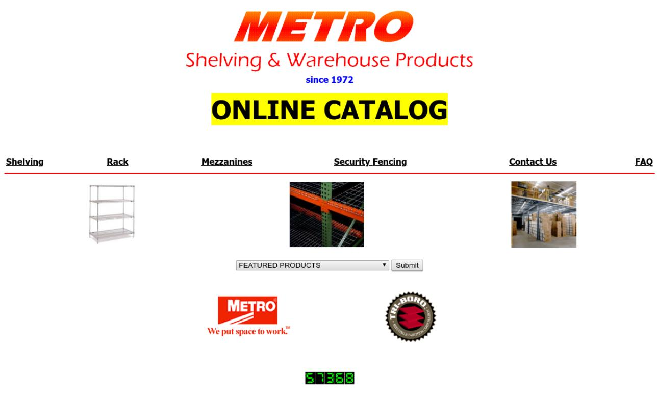 Metro Shelving & Warehouse Products