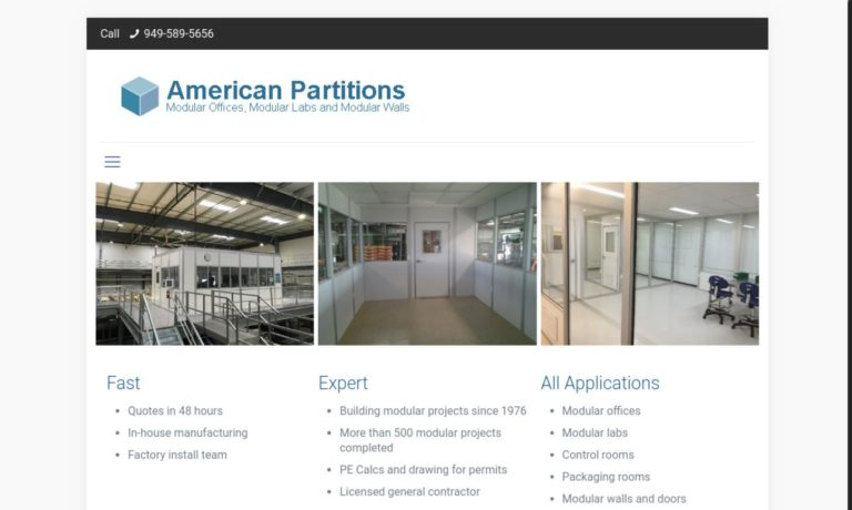 American Partitions & Building Systems